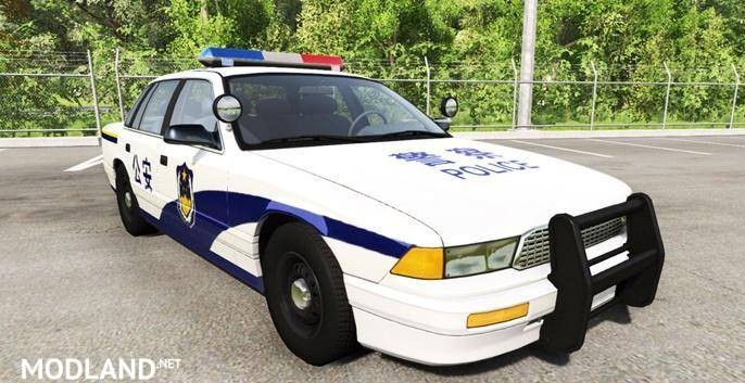 BeamNg Drive – Gavril Grand Marshall Chinese Police [0.8.0]